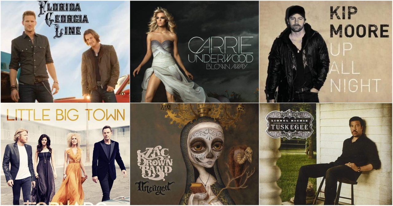 Ten from 2012: Country Albums That Rocked the Decade