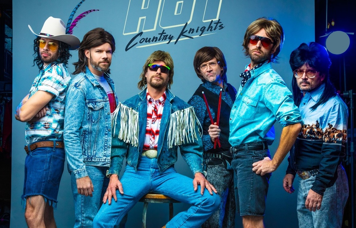 Hot Country Knights Go Hollywood in Late Night TV Debut