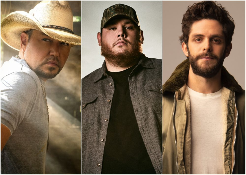Jason Aldean, Luke Combs and Thomas Rhett to Headline 2020 Faster Horses Festival