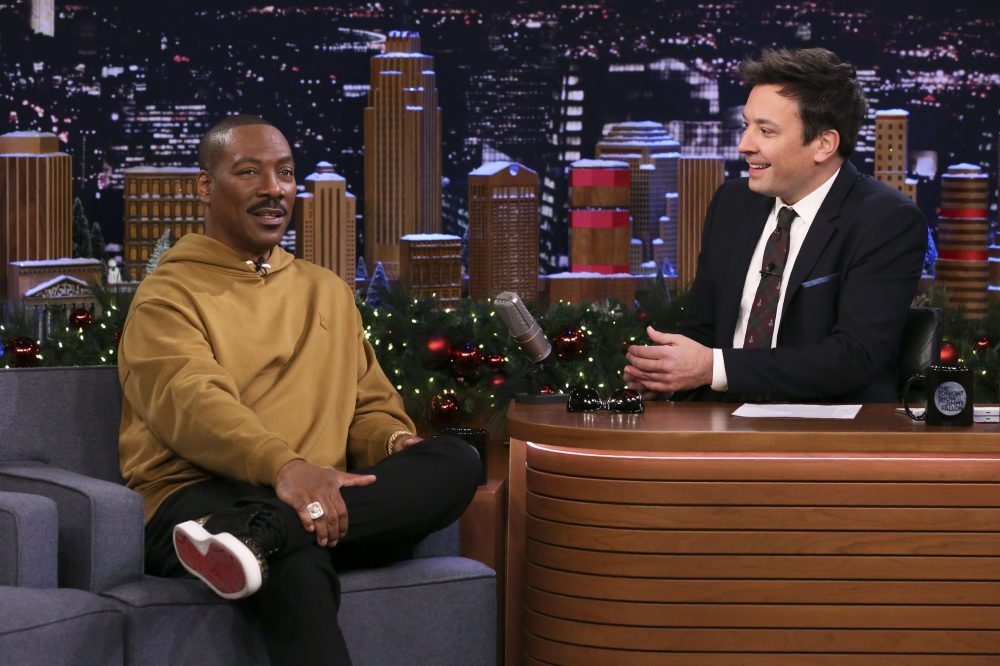 Eddie Murphy Recalls 'SNL' After-Party With Johnny Cash