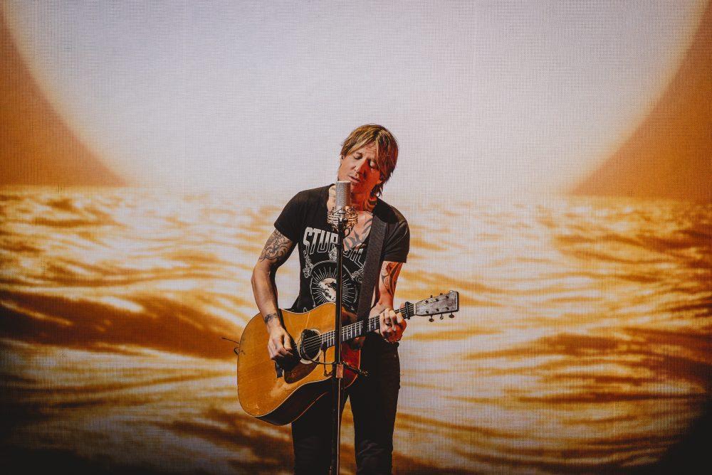 Keith Urban Hosts Live Concert on Instagram