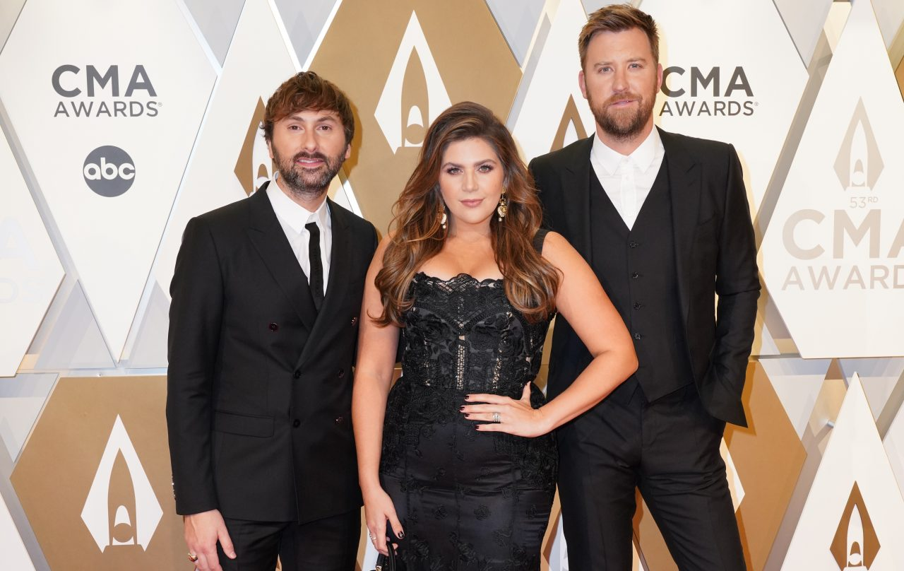 Lady Antebellum Hit Number One With 'What If I Never Get Over You'