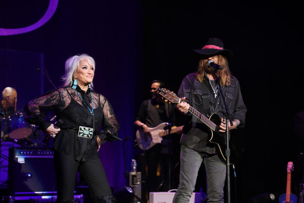 Tanya Tucker and Billy Ray Cyrus; Photo Credit: Derrek Kupish / dkupish productions