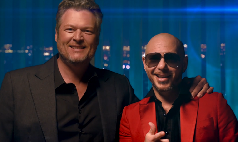 See Blake Shelton and Pitbull's Booty-Shaking 'Get Ready' Video