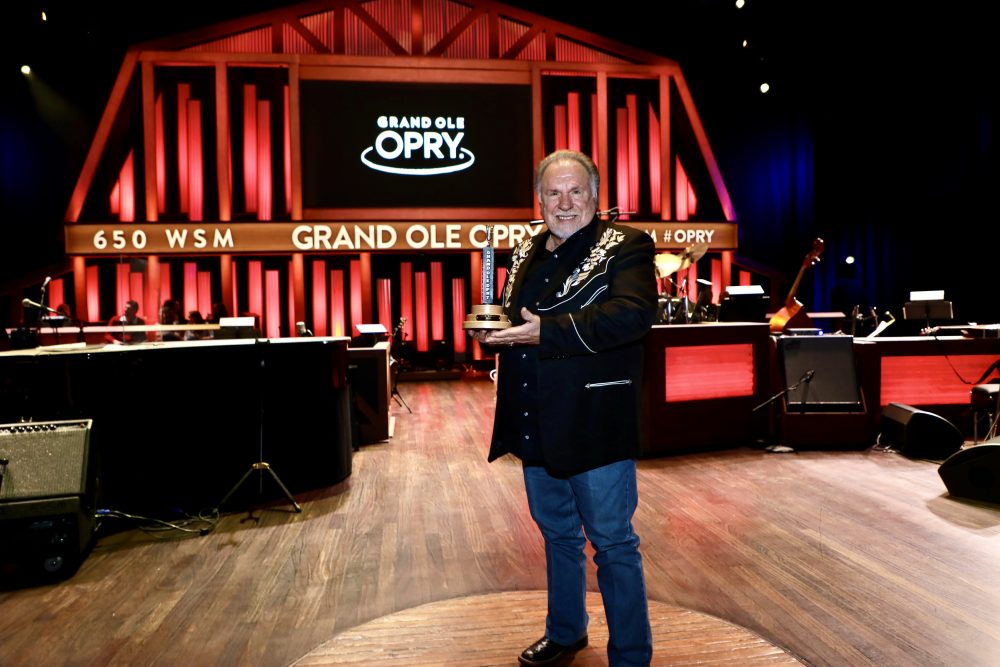 Gene Watson Inducted Into The Grand Ole Opry Family By Steve Wariner