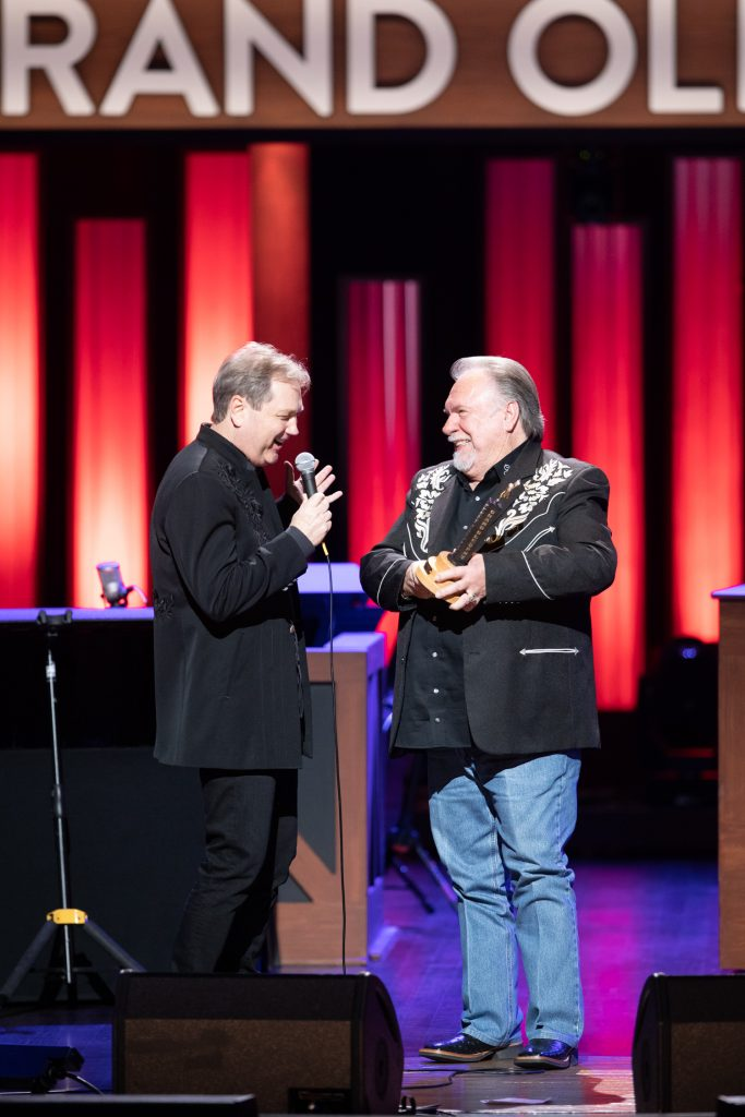Steve Wariner and Gene Watson; Photo Credit: Chris Hollo for Grand Ole Opry