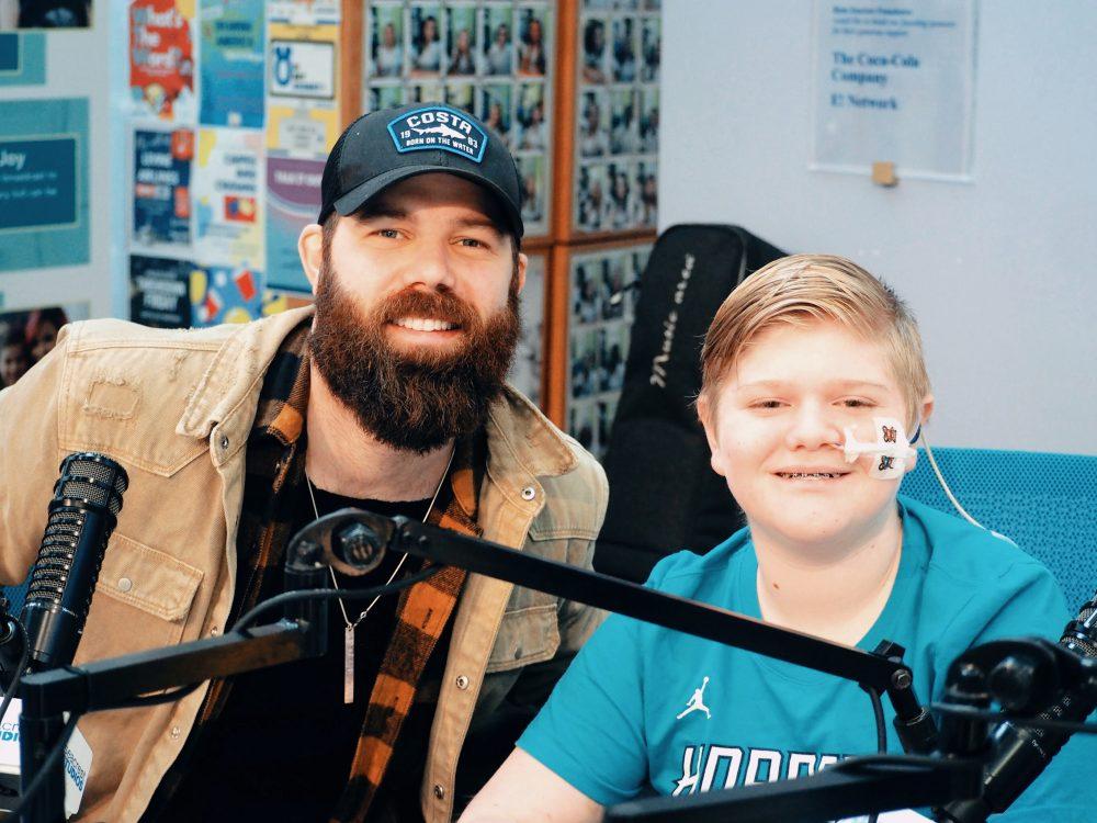 Jordan Davis Named Celebrity Ambassador for Ryan Seacrest Foundation