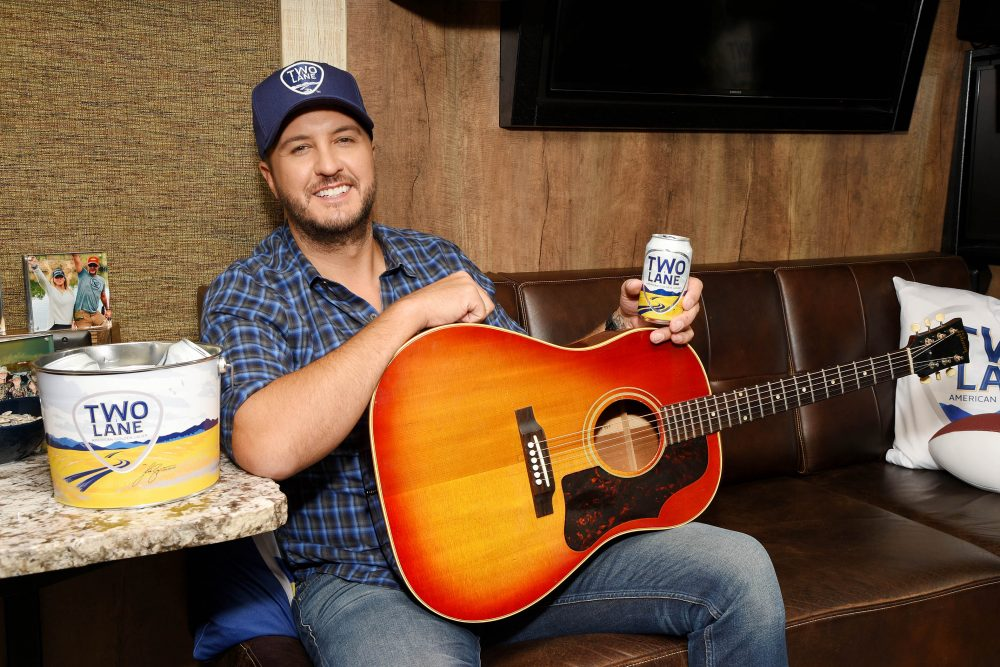 Celebrity Spirits: Luke Bryan's Two Lane American Golden Lager