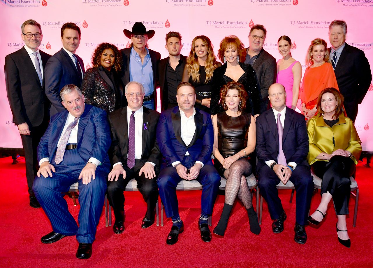 Top Country and Christian Artists Salute the Honorees at T.J. Martell Foundation Gala