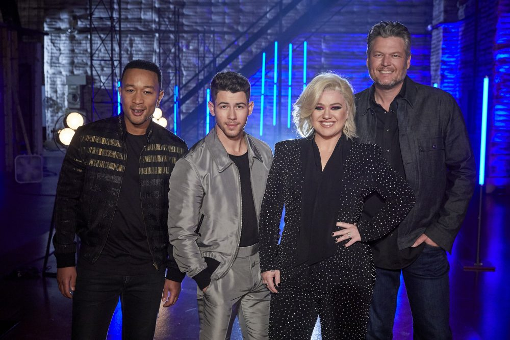 Watch Blake Shelton and 'Voice' Coaches Team Up for 'Jealous'