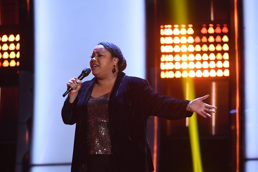 The Voice Recap: Toneisha Harris Earns Four-Chair Turn With Foreigner's 'I Want to Know What Love Is'