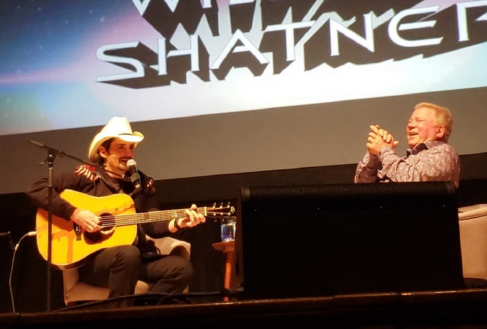 William Shatner and Brad Paisley Share Humorous Tales After 'Khan' Screening