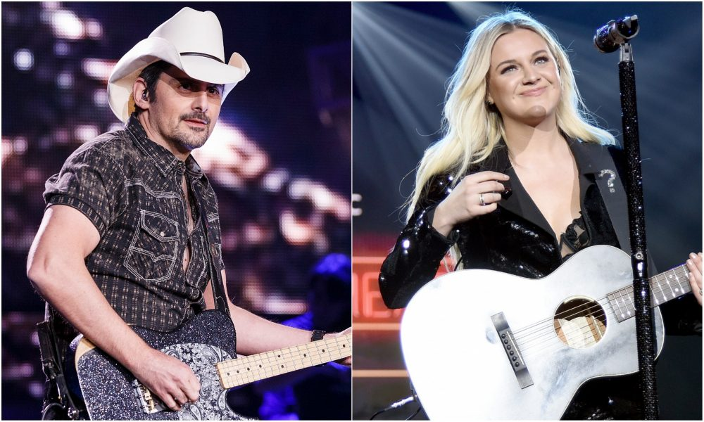 Brad Paisley Learns Guitar Solo For Kelsea Ballerini's 'Hole In The Bottle'