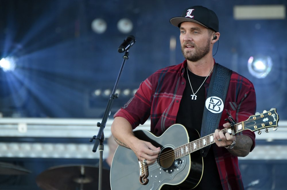 Brett Young Is Self-Quarantining In His Tour Bus
