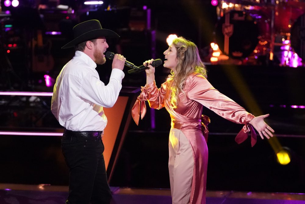 The Voice Recap: Watch Team Blake's Cam Spinks & Kailey Abel Sing 'What Ifs'