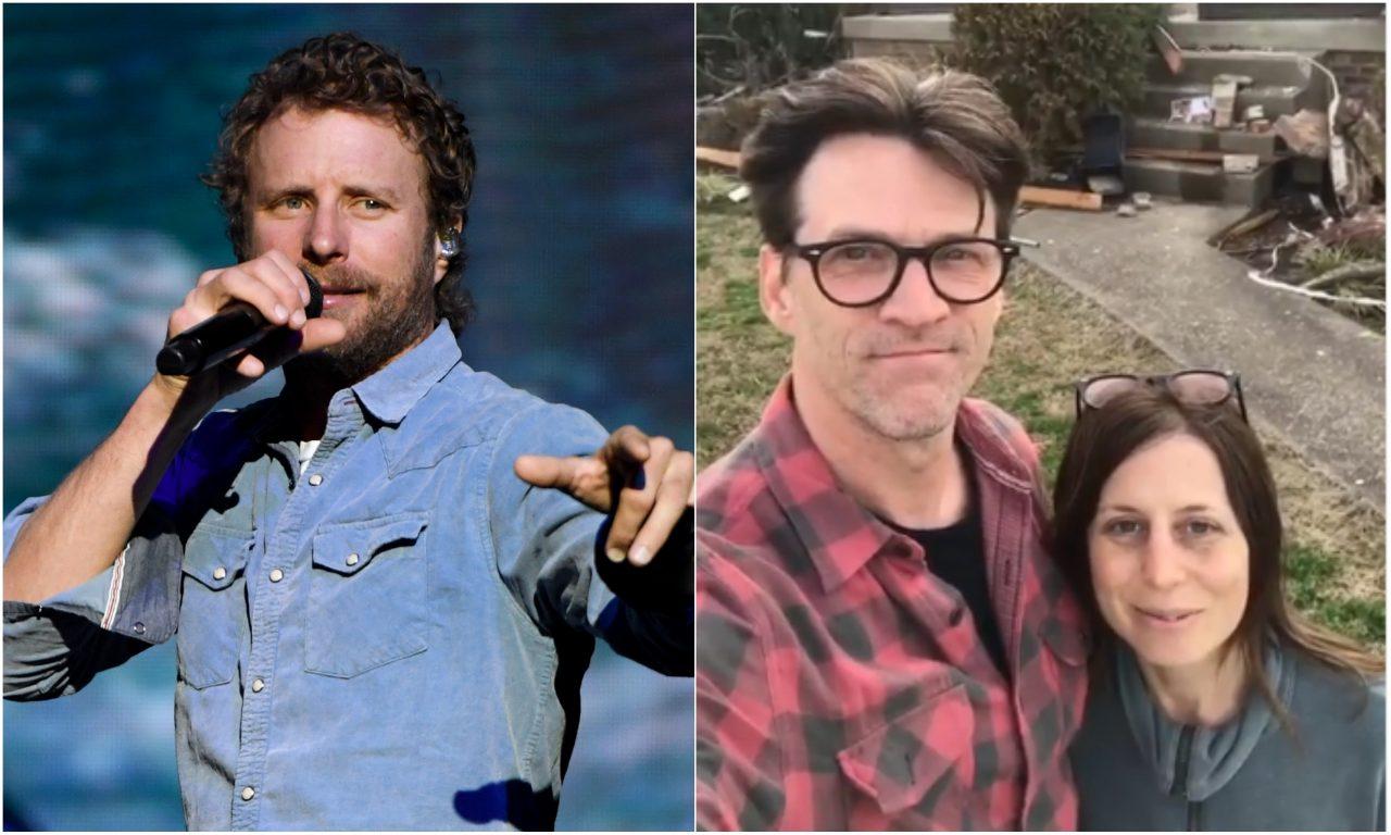 Dierks Bentley and Crew Help Drummer Steve Misamore Clean Up His Home Demolished by Nashville Tornado