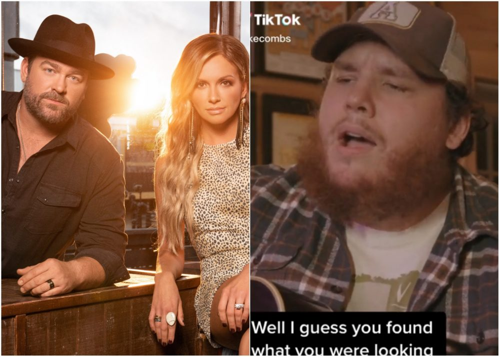Luke Combs Covers Carly Pearce & Lee Brice Hit, 'I Hope You're Happy Now'