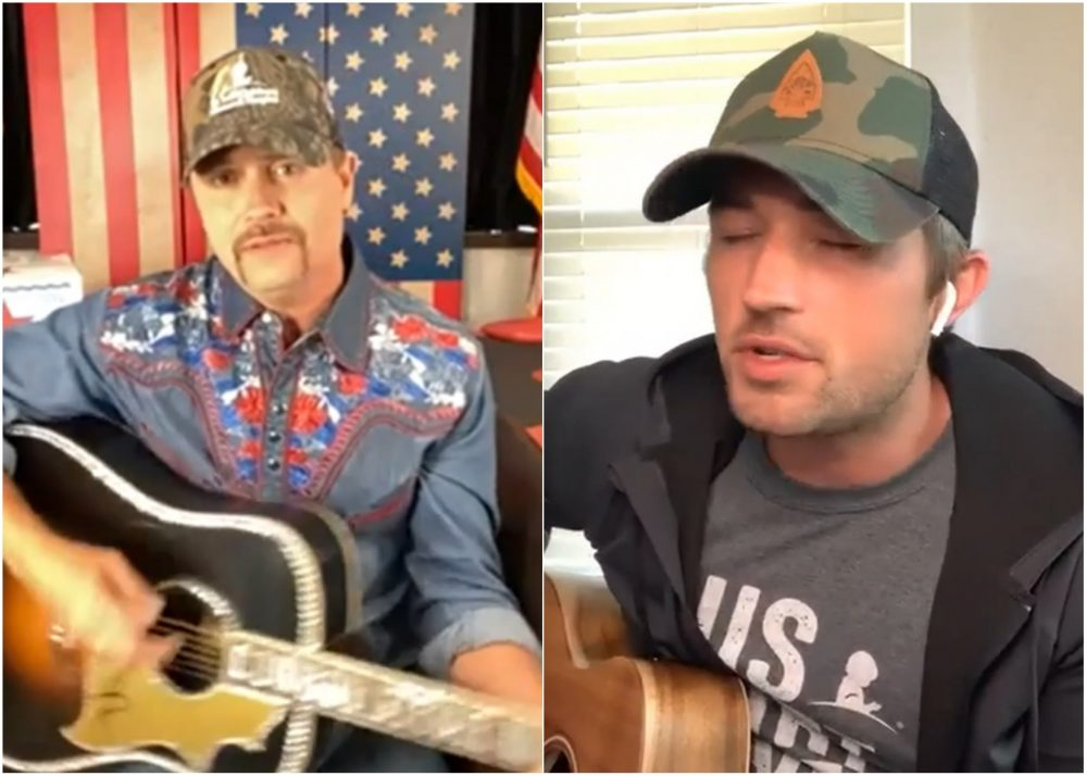 John Rich and Michael Ray Salute St. Jude After Marathon's Postponement