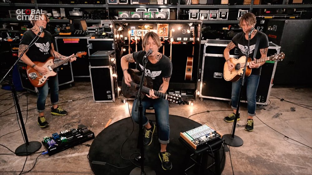 Watch Keith Urban Transform Into a One Man Band for 'Together at Home'
