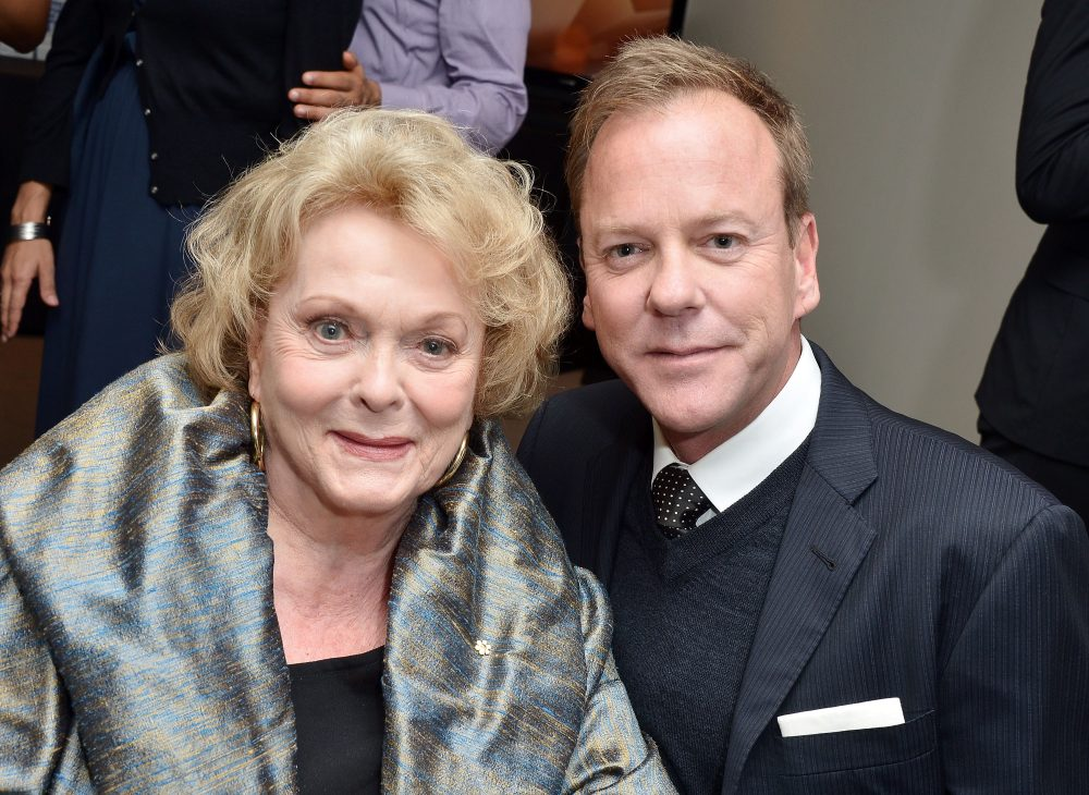 Kiefer Sutherland's Mother, Shirley Douglas, Dead at Age 86