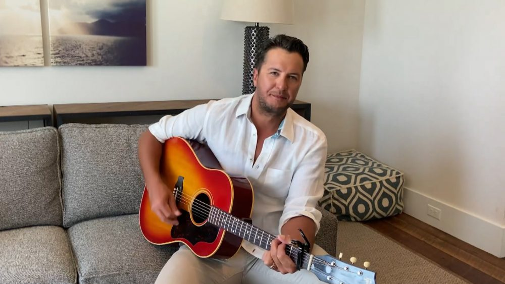 Luke Bryan Preaches Optimism on 'Most People Are Good'