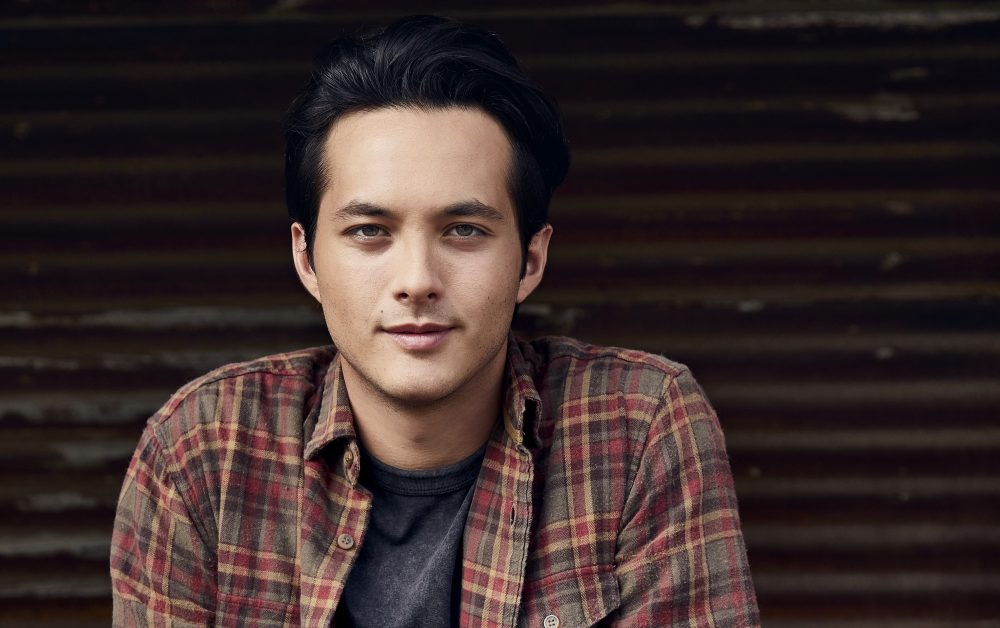 Laine Hardy Revisits Childhood Memories In 'Please Come Home for Christmas' Video