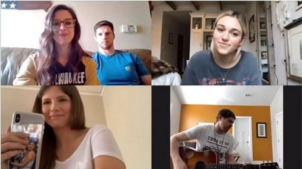 Matt Stell Surprises Engaged Couples On Zoom And Performs 'Prayed For You'