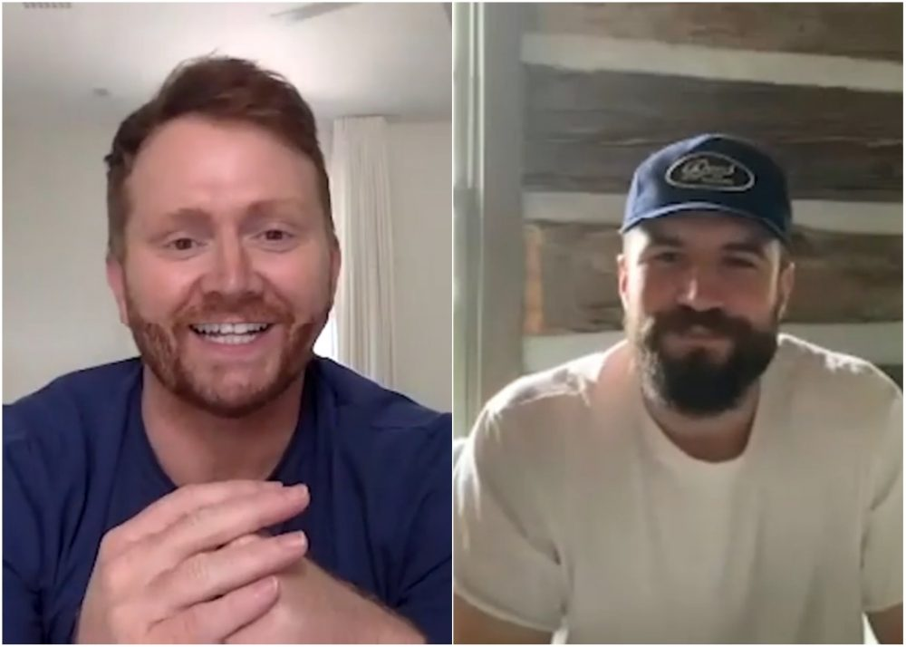 Shane McAnally Chats With Sam Hunt About The Process Behind 'Hard To Forget'
