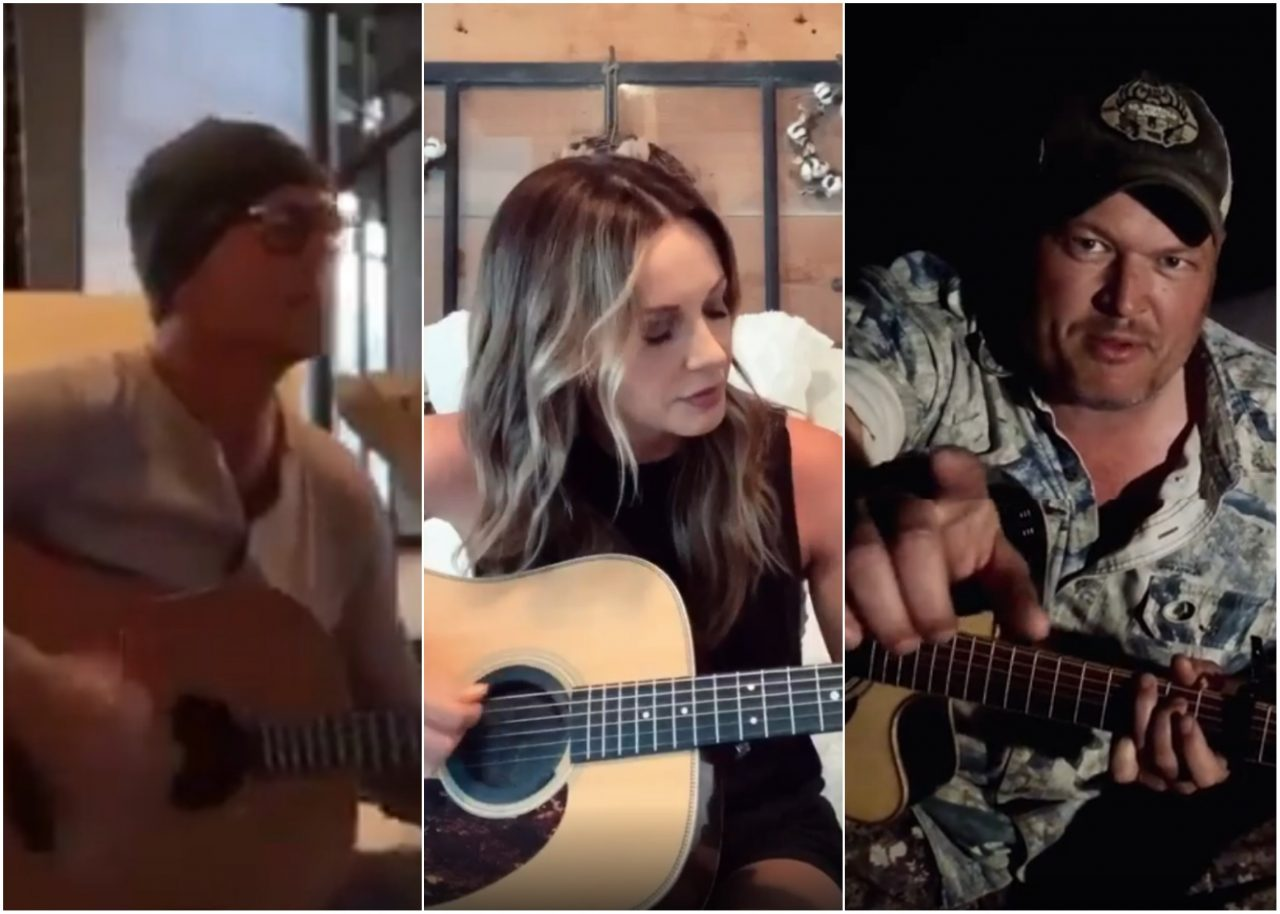 Country Stars Participate in Musical Challenges During Coronavirus