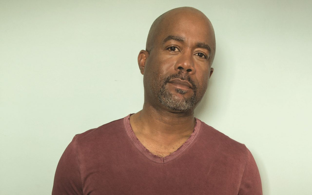 Darius Rucker Shares a Moving Musical Moment With Firefighters
