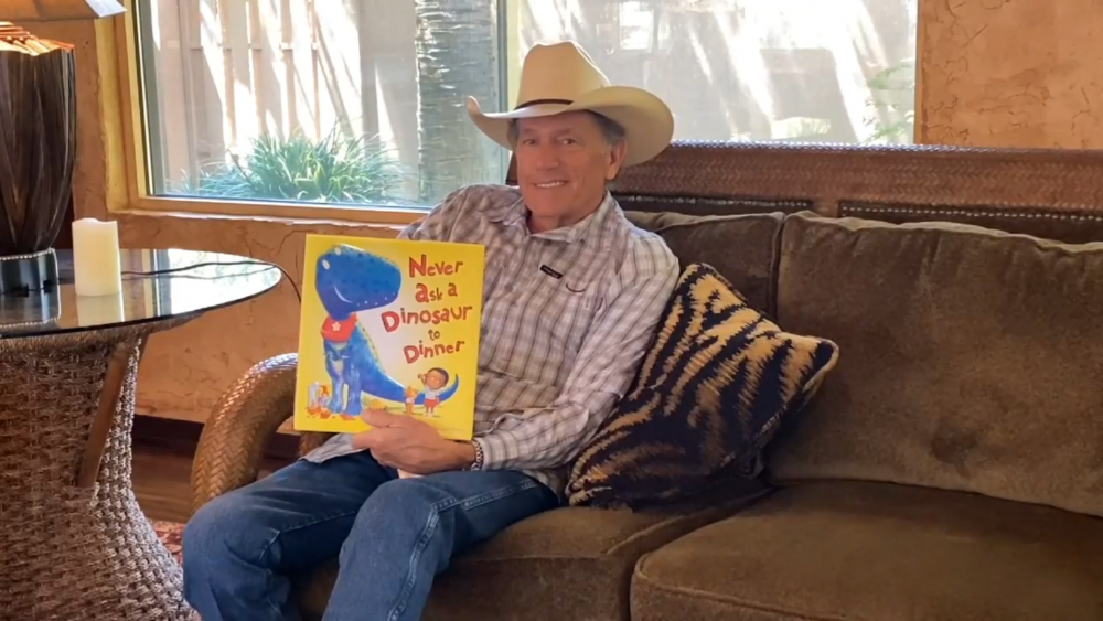 Watch George Strait Read a Bedtime Story on Facebook Live