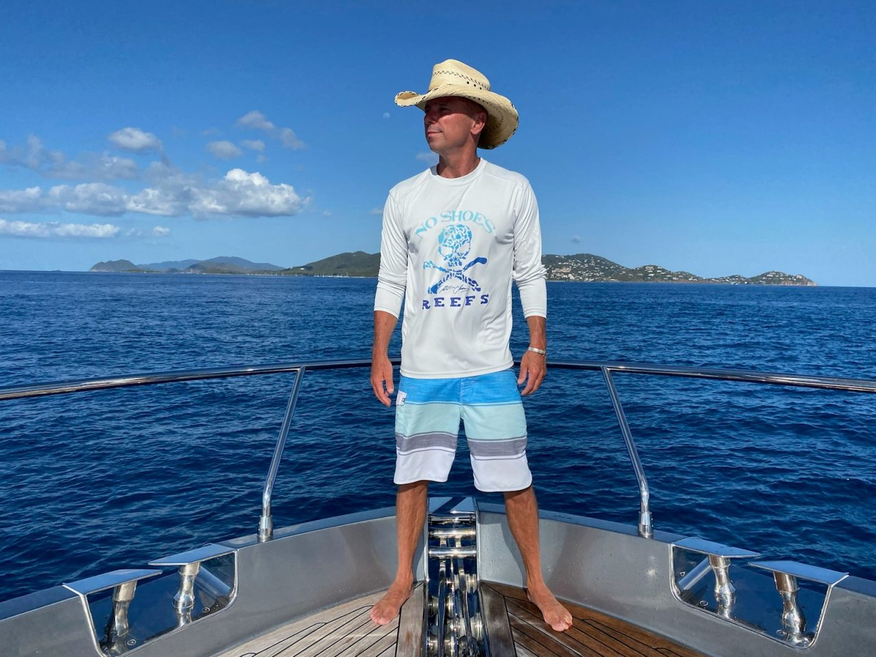 Kenny Chesney Continues 'No Shoes Reef' Coastal Conservation Efforts