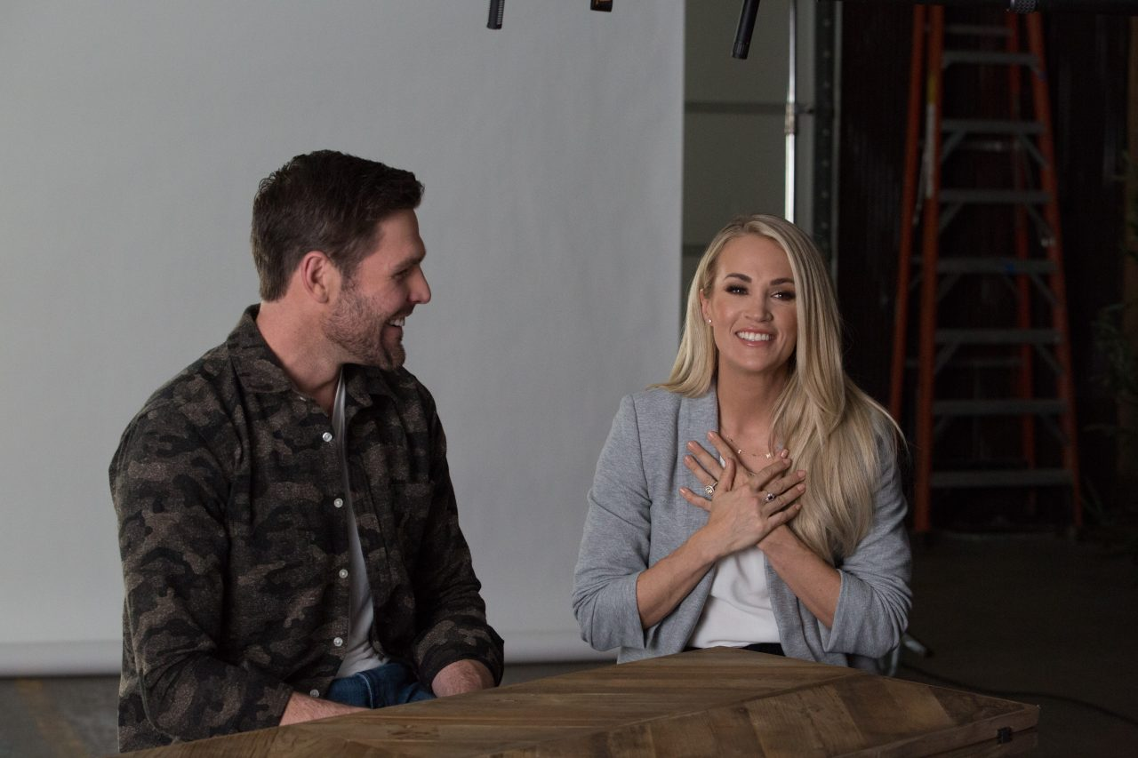 Carrie Underwood and Mike Fisher Get Real in 'God & Country'