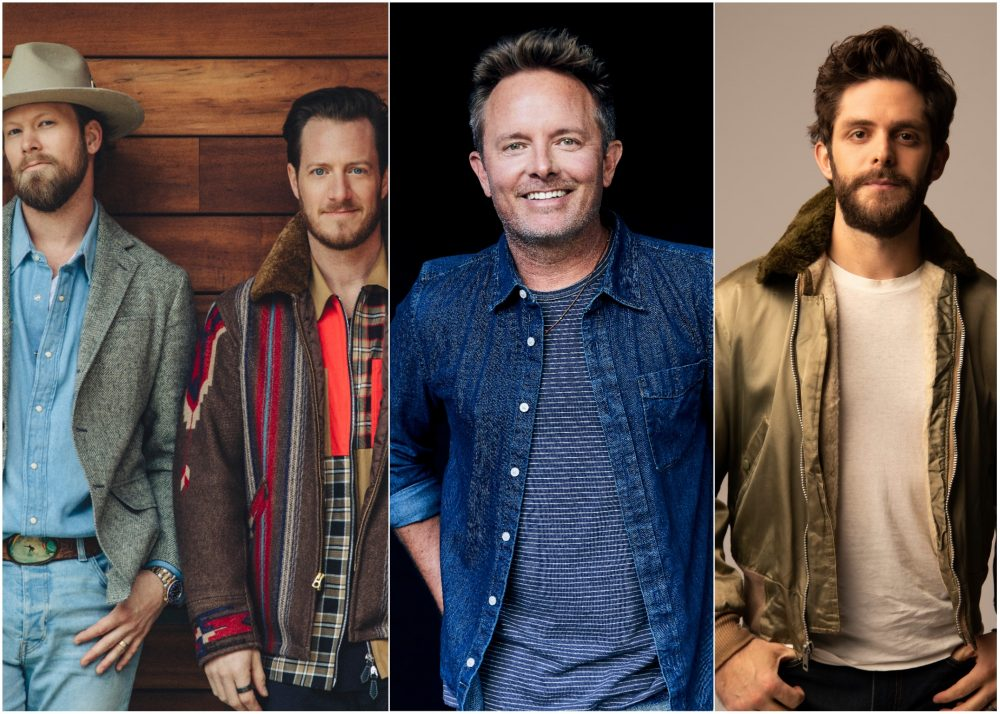 Chris Tomlin Enlists Florida Georgia Line And Thomas Rhett for 'Thank You Lord'