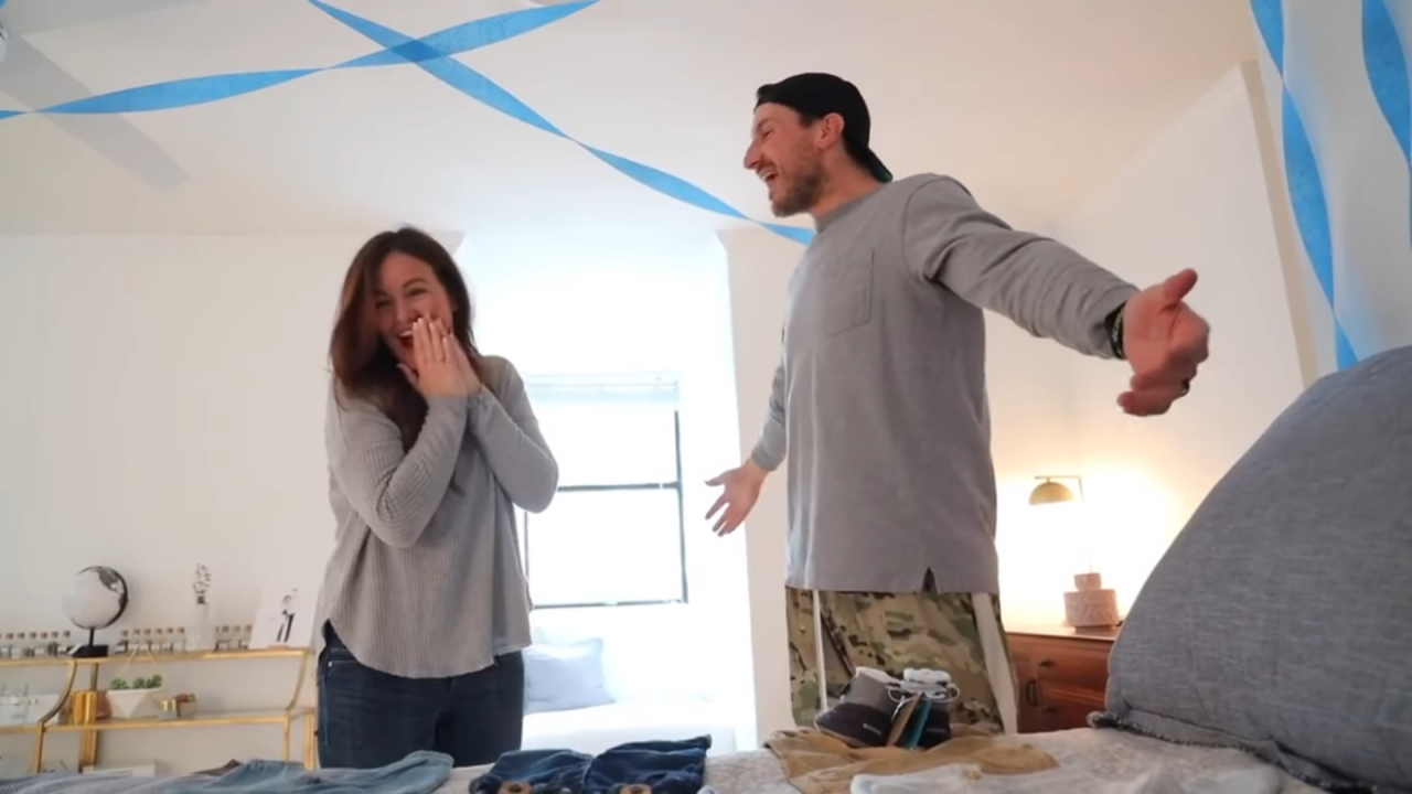 Russell Dickerson and Wife Kailey Share Sweet Gender Reveal Video