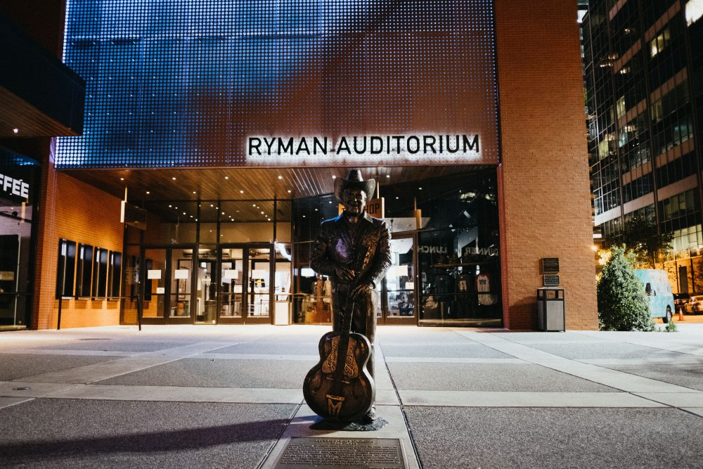 Country's Historic Ryman Auditorium Vandalized in Violent Protests