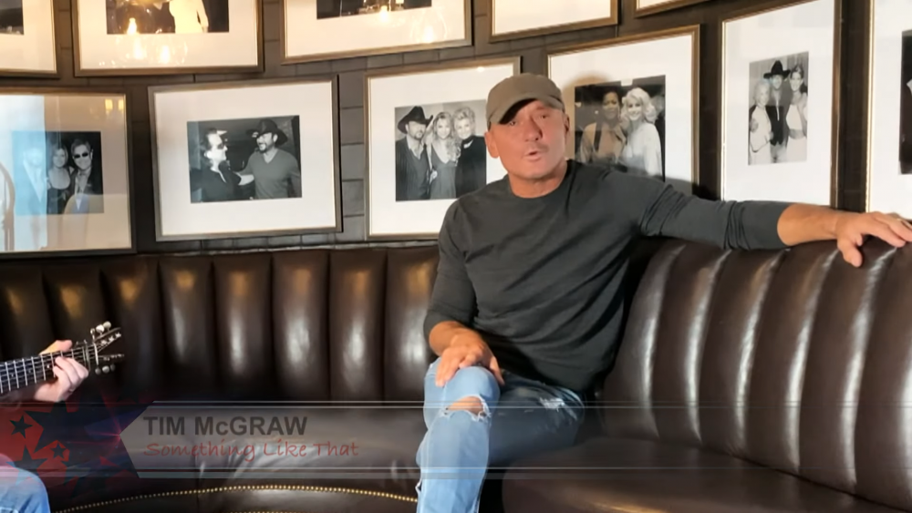 Tim McGraw Tips a Hat to Truckers on 'United We Sing'