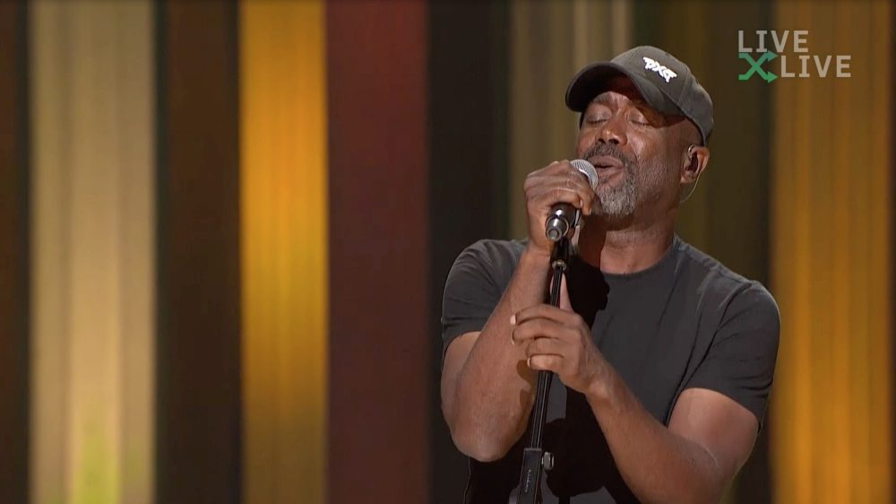 Darius Rucker Continues Support For St. Jude With Virtual Benefit Concert