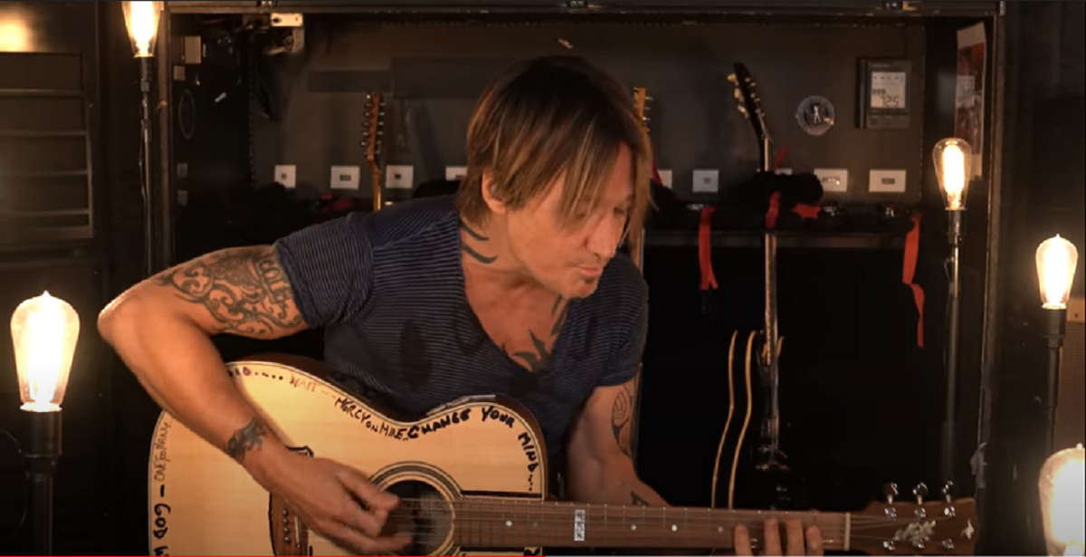 Keith Urban Gets Groovy with Acoustic Cover of 'Don't Start Now'
