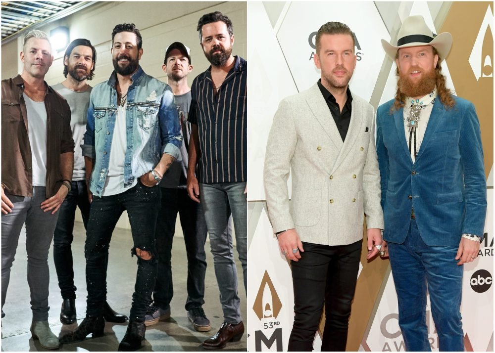 Old Dominion and Brothers Osborne Have Zoom Drinks Together