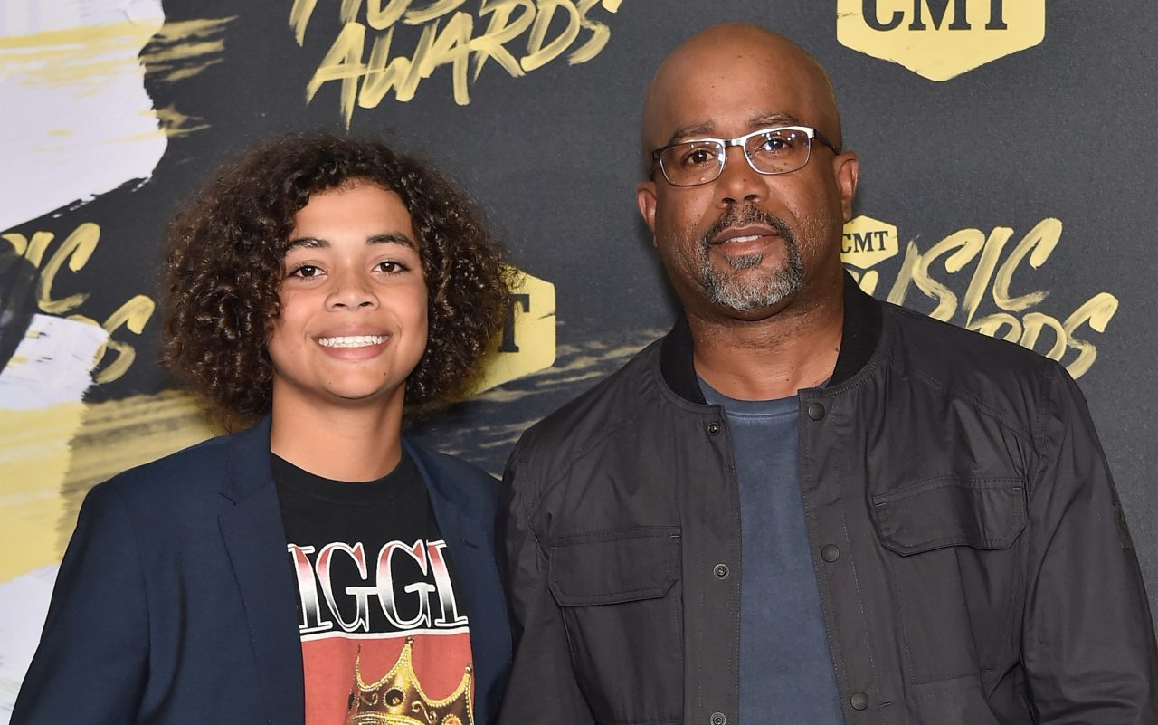 Darius Rucker Shares His Fatherly Advice For His Kids