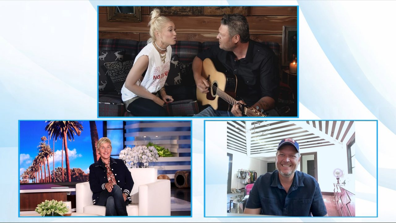 Watch Blake Shelton Dish on COVID and 'The Voice' on 'Ellen'