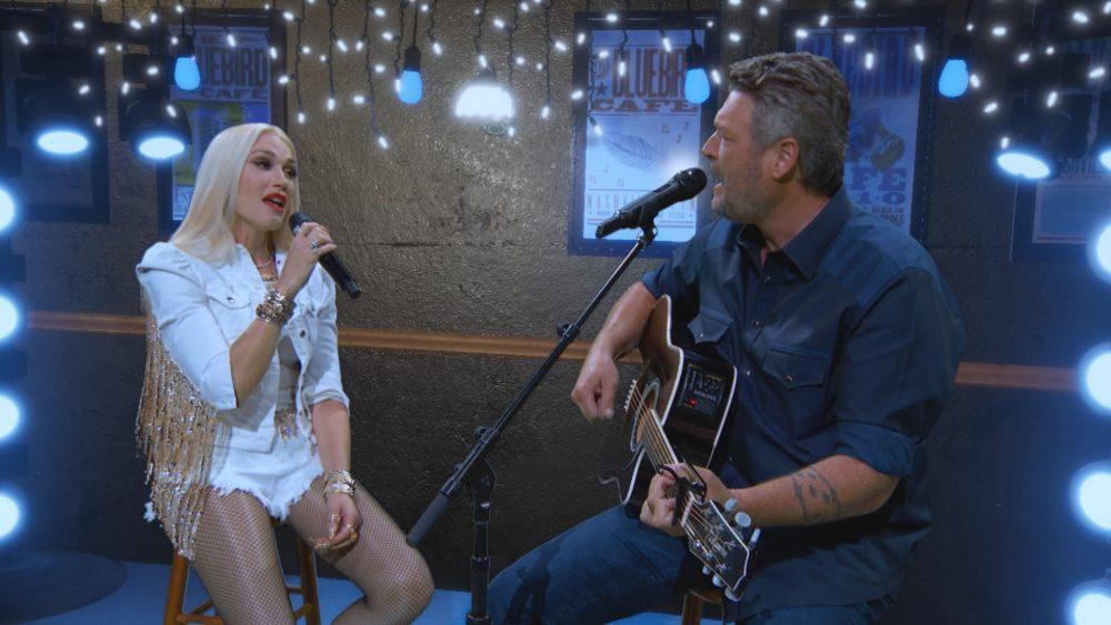 Blake Shelton Serenades Gwen Stefani in Acoustic 'Happy Anywhere'