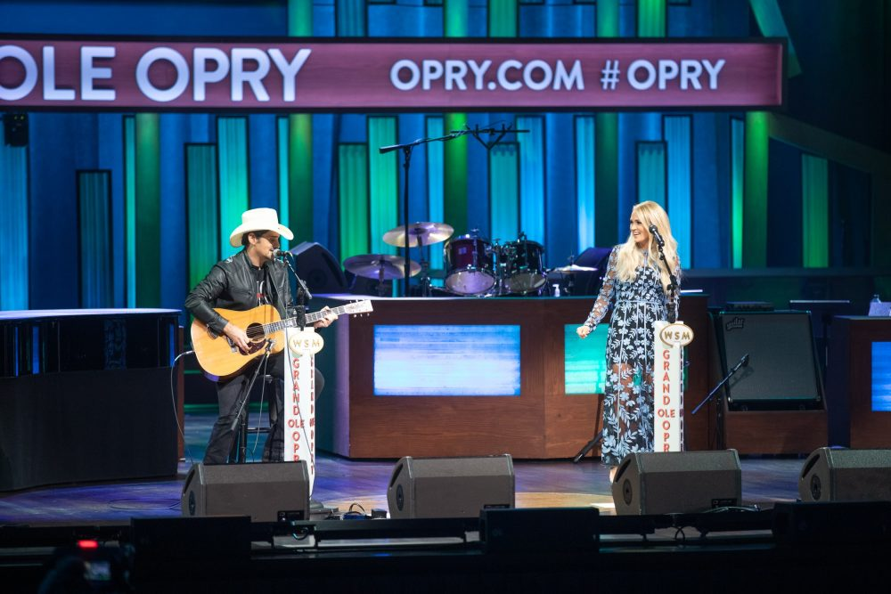 Watch Brad Paisley and Carrie Underwood's Grand Ole Opry Duet