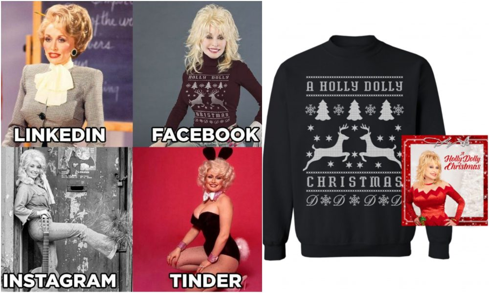 Dolly Parton Secretly Revealed Christmas Album Title In Viral Meme