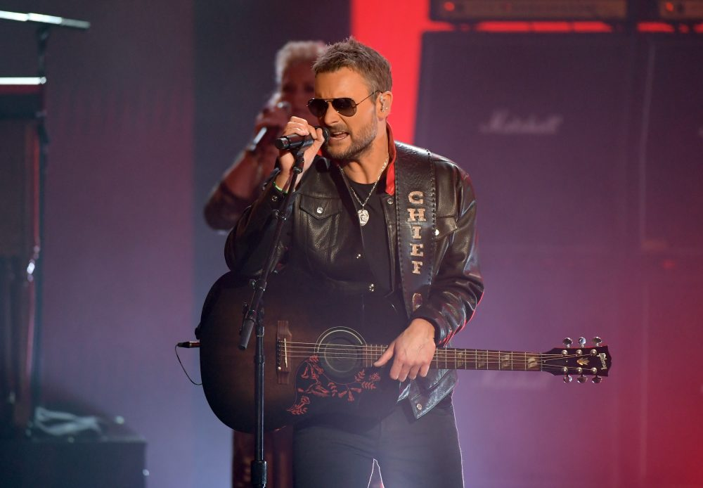 How Eric Church Pulled Off His Striking ACM Awards Performance