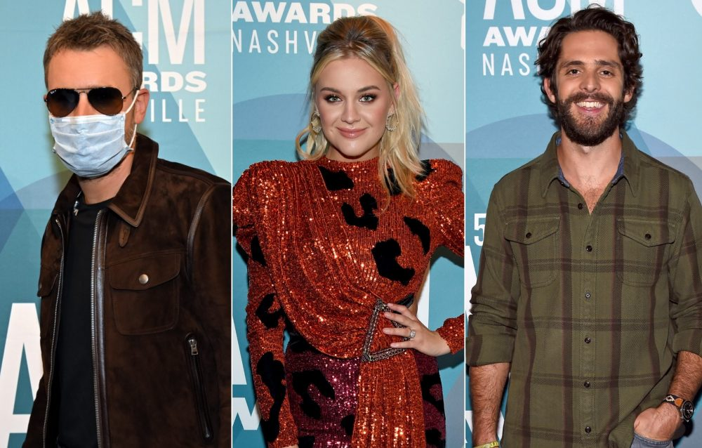 Photos: See the Stars Walk the Socially Distanced 2020 ACM Awards Red Carpet