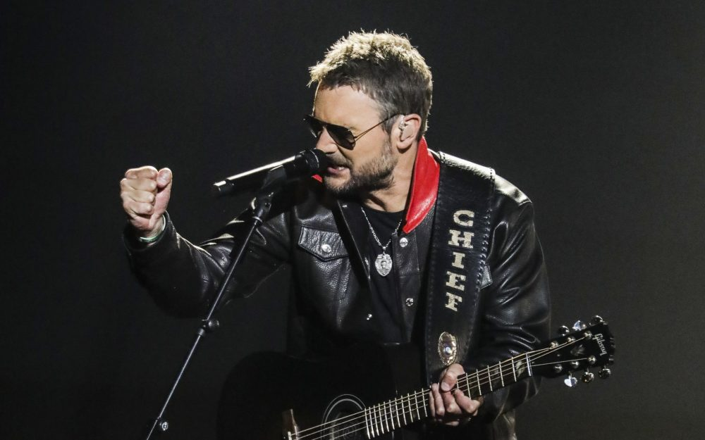 Eric Church Performs Powerful 'Stick That In Your Country Song' On ACM Awards