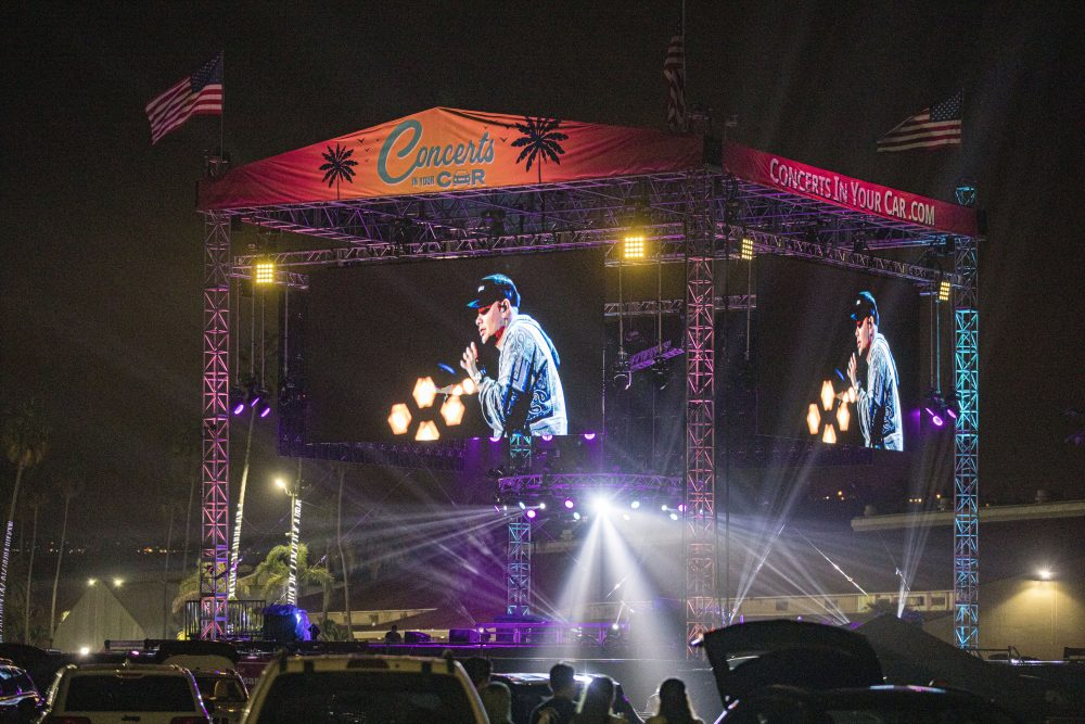 Kane Brown and Friends Pull Off a Parking Lot Party During Drive-In Concert Event