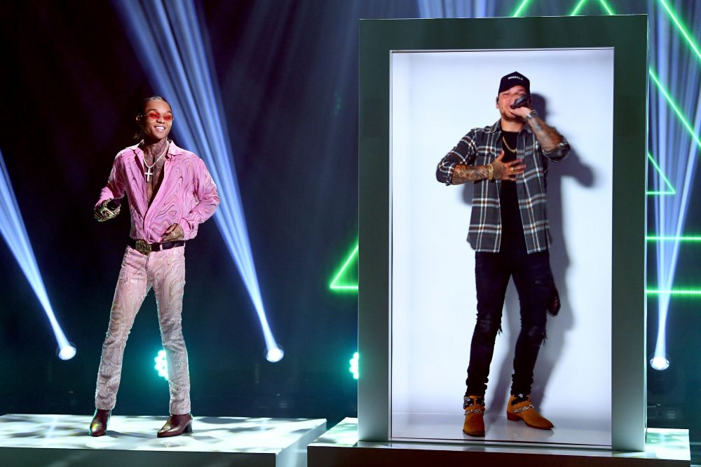 Watch Kane Brown Perform as a Hologram at the iHeartRadio Festival